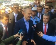 MUSTAFA ÇALIŞKAN - İçişleri Bakanı Süleyman Soylu  15 Temmuz Demokrasi Otogar'nda Trafik Uygulamalarını Denetledi