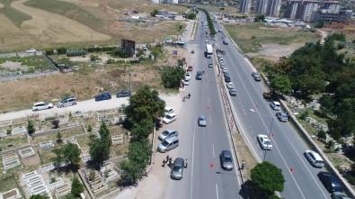 İHA İle Trafik Yoğunluğu Ve Kazalar Kontrol Ediliyor