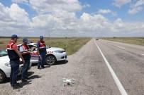 KURAL İHLALİ - Jandarmadan 'Drone'li Trafik Denetimi