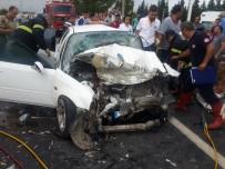 Kahramanmaraş'ta Feci Kaza Açıklaması 1 Ölü, 6 Yaralı