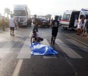 MAHMUTLAR - Kamyonetin Çarptığı Ukraynalı Kadın Öldü