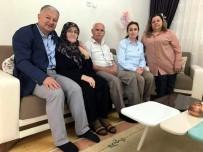 MURAT DURU - Kaymakam Duru'dan Şehit Ailelerine Bayram Ziyareti