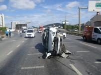 (Özel) Şile Yolunda Kaza Açıklaması 2 Yaralı