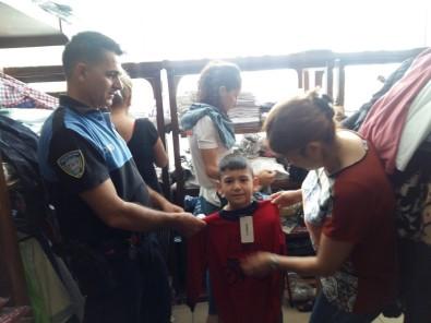 Polisten, Çocuklara Bayram Hediyesi