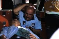KALENDER - Seyyar Satıcılar Zabıtalara Saldırdı, 1'İ Bıçakla 2 Zabıta Yaralandı