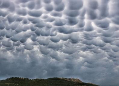 Tokat'ta Sıra Dışı Doğa Olayı Objektiflere Yansıdı