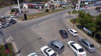 IŞIK İHLALİ - Yozgat'ta Bayram Öncesi Drone İle Trafik Denetimi Yapıldı