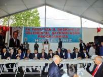 BURHAN KAYATÜRK - AK Parti Van İl Başkanlığında Bayramlaşma