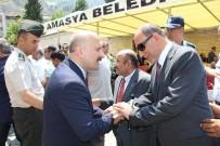 KAHRAMANLıK - Amasya'da Yöneticilerle Vatandaşlar Bayramlaştı