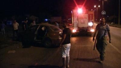 Balıkesir'de Trafik Kazası Açıklaması 1 Ölü 3 Yaralı