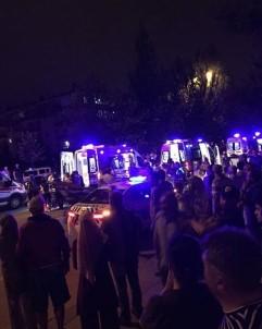 Başkent'te Zincirleme Trafik Kazası Açıklaması 8 Yaralı