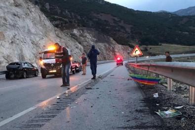 Burdur'da Trafik Kazası Açıklaması 1 Ölü, 5 Yaralı