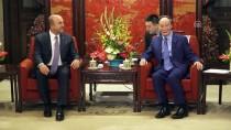 MEVLÜT ÇAVUŞOĞLU - Çavuşoğlu Çin Devlet Başkan Yardımcısı Vang İle Görüştü