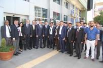 YUSUF ZIYA GÜNAYDıN - Cumhur İttifakı'nın Isparta Kurmayları MHP'li Belediyede Bayramlaştı