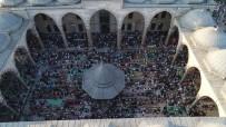 MUSTAFA DEMIR - Fatih Camii'ndeki Yoğunluğu Havadan Görüntülendi