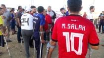 FUTBOL MAÇI - Gazzeli Engellilerden İsrail Sınırında Futbol Maçı