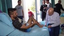 İSTANBUL BEŞİKTAŞ - Gülveren'den Tedavi Gören Gazilere Bayram Ziyareti