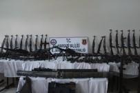 KESKİN NİŞANCI - 'İkiyaka Dağları'nda terör örgütüne ait cephanelik ele geçirildi'