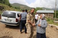 ŞEHİT ANNESİ - Kaymakam Çetin'den Şehit Ailesine Bayram Ziyareti