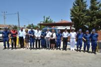 ALI ÇETIN - Kaymakam Çetin Ve Başkan Demirağ'dan Jandarmaya Bayram Kutlaması