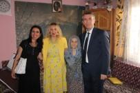 ŞEHİT YÜZBAŞI - Kaymakam Sırmalı'dan Şehit Ailelerine Ziyaret