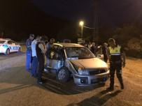 POLIS DEVLET - Kazadan Sonra Olay Yerinden Kaçtı