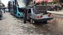 ADLİ TIP KURUMU - Malatya'da Otomobil İle Halk Otobüsü Çarpıştı Açıklaması 1 Ölü, 1 Yaralı