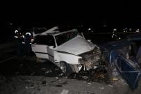 Nevşehir'de Trafik Kazası Açıklaması 16 Yaralı