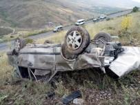 Otomobil Uçuruma Yuvarlandı Açıklaması 1 Ölü, 4 Yaralı