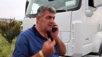 KAPIKULE SINIR KAPISI - Tır Şoförleri Bayrama Kuyrukta Girdi