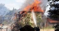 ORMANA - Uludağ'daki Lüks Villalar Böyle Yandı