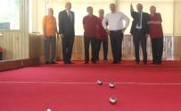 Vali, Bayramlaşmada Huzurevi Sakinleriyle 'Bocce' Oynadı