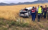 HACıBEYLI - Afyonkarahisar'da Feci Kaza Açıklaması 4 Ölü, 1 Yaralı