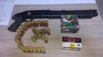 YUNUS TİMLERİ - Bayram Günü Pompalı Tüfekle Tehlike Saçan Maganda Yakalandı