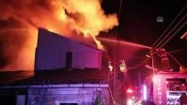 SAMANLıK - Bolu'da Yangın