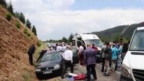 EKONOMİ BAKANI - Denizli'de Trafik Kazası Açıklaması 2 Yaralı
