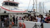 AZIZ KOCAOĞLU - Foça'ya Gemi İle Ulaştılar