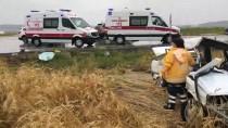 EVLİYA ÇELEBİ - GÜNCELLEME - Kütahya'da İki Otomobil Çarpıştı Açıklaması 4 Ölü, 4 Yaralı