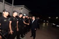 ÇAMLıCA - İstanbul Emniyet Müdürü Çalışkan Görev Başındaki Polislerle Bayramlaştı