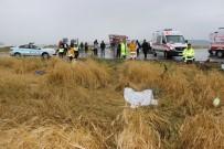 EVLİYA ÇELEBİ - Kütahya'da Feci Kaza Açıklaması 4 Ölü, 4 Yaralı