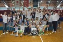 TÜRKIYE BASKETBOL FEDERASYONU - Manisa Büyükşehir'in Dev Adamları 1. Lig'e Yükseldi