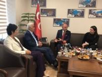 NEVZAT CEYLAN - MHP, AK Parti Heyetini Ağırladı