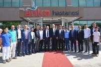 DIYABET - Milletvekili Koçer'den ANKA'da Yatan Hastalara Ziyaret