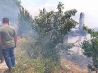 BAYRAM ZİYARETİ - Ödemiş'te Korkutan Yangın