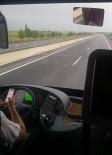 Otobüs Şoförü Yolcuların Canını Hiçe Saydı