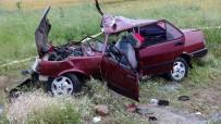 Yozgat'ta Trafik Kazası Açıklaması 1 Ölü, 3 Yaralı