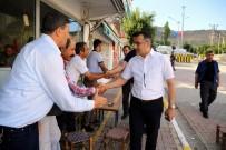 Başkan Çelik, Esnaf Ve Halkla Bayramlaştı