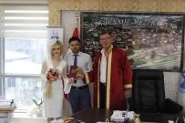 VEZIRHAN - Başkan Duymuş, Genç Çiftin Nikahını Kıydı