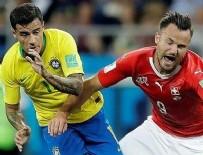 KOSTA RIKA - Brezilya'dan tatsız başlangıç! Brezilya 1-1 İsviçre maç sonucu