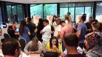 STRAZBURG - Fransa'daki Türklerden Sandıklara Yoğun İlgi